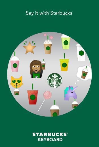 Emoij Marketing Starbucks
