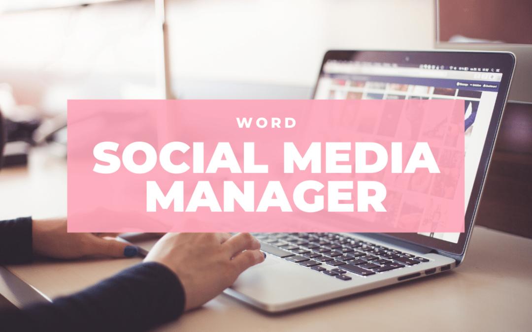 Nieuw! Online Opleiding Social Media Manager