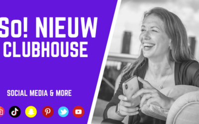 So Nieuw! Wat is Clubhouse?