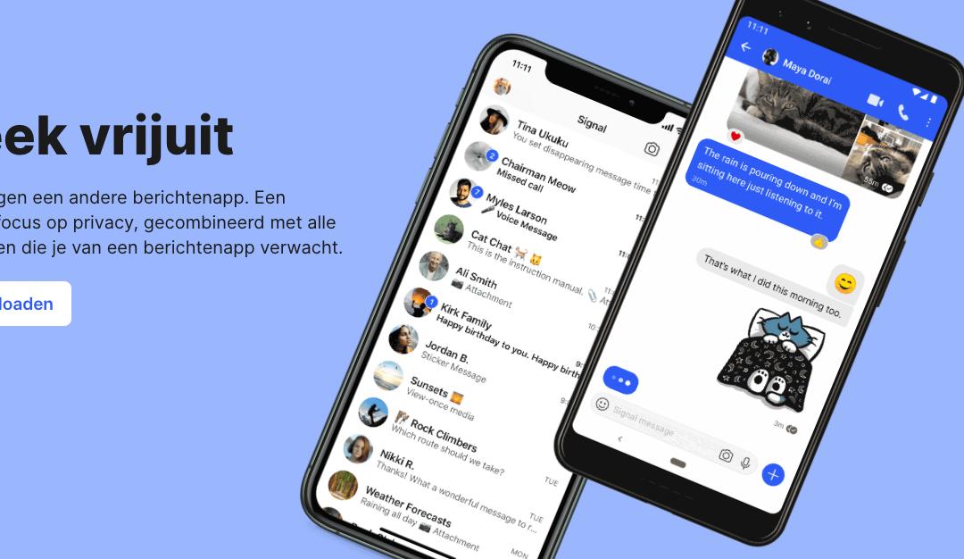 Wat is Signal, het WhatsApp alternatief?