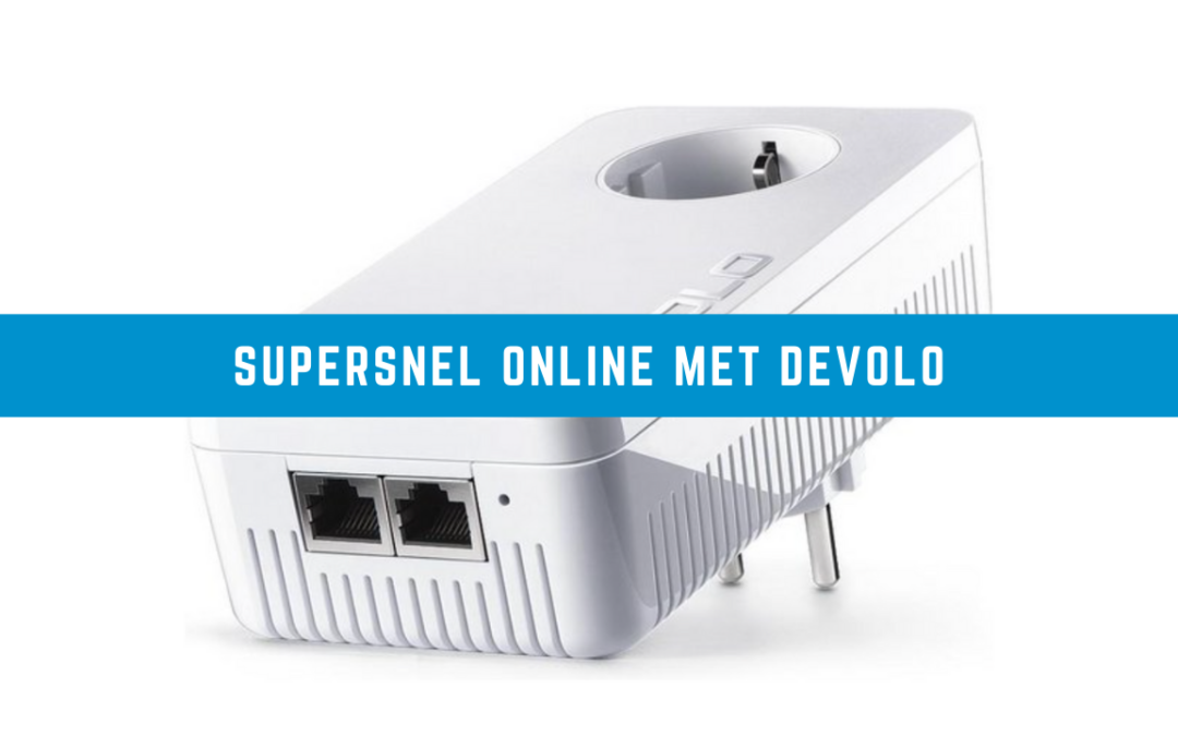 Supersnel online met Devolo dLAN 1200+ - Wifi Powerline (2)