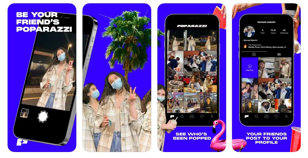 Wat is Poparazzi? De 'Non-Selfie-Selfie-App'
